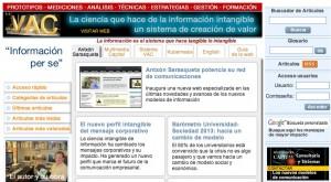 La web de sarasqueta.com que da acceso a más de 2.000 informaciones de más de una década